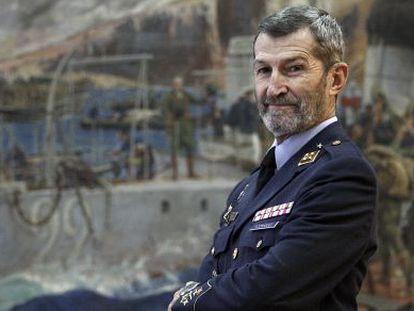 General Julio Rodríguez Fernández in a picture taken in 2010.