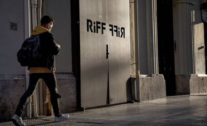 The RiFF restaurant in Valencia is closed to the public after the food poisoning outbreak.
