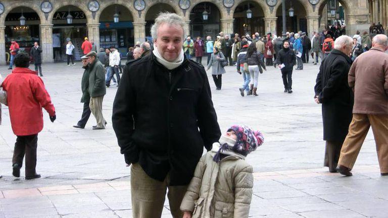 Fernando Blanco and his daughter Nadia.