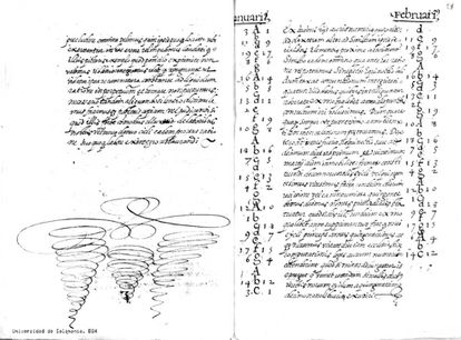 A 1578 copy of the calendar change proposal made by Salamanca University in 1515.