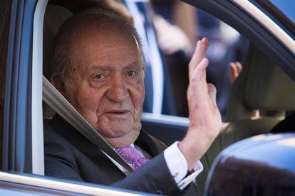 Former king Juan Carlos I of Spain in 2018.