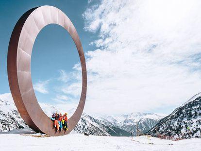 Ordino Arcalís ski resort in Andorra.