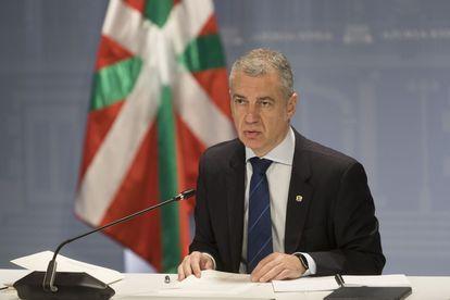 The premier of Basque Country, Iñigo Urkullu, in a file image.
