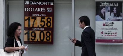 The Mexican peso is a currency under fire.