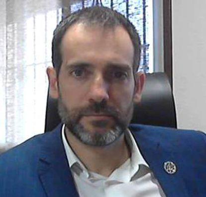 Juan José Liarte in his Facebook profile photo.