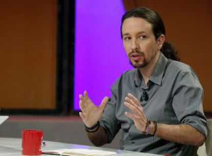 Podemos leader Pablo Iglesias is taking a lot of potential votes away from the PSOE.