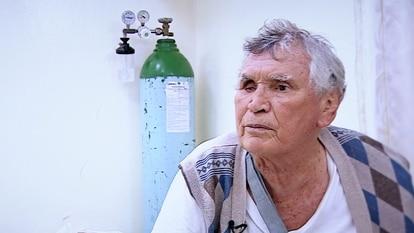 An image of Miguel Ángel Félix Gallardo during the Telemundo interview.
