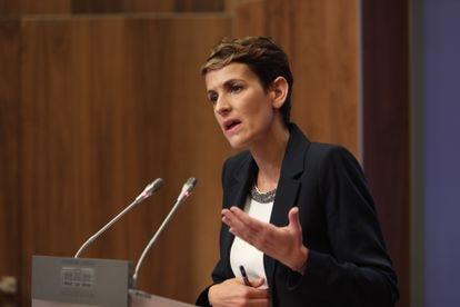 Navarre premier María Chivite.