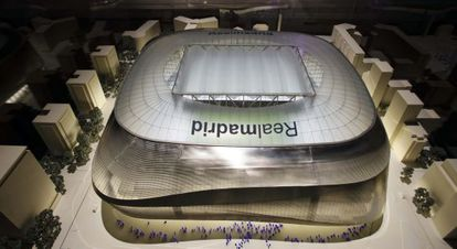The design for a new Bernabéu stadium by GMP Architekten and the studios L-35 and Ribas&Ribas.