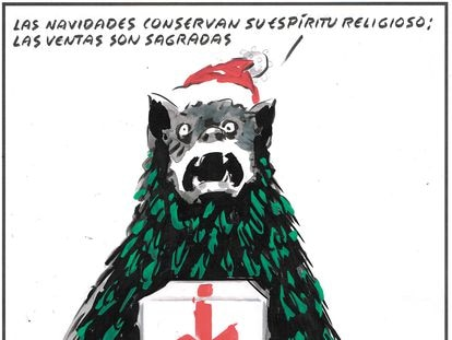 """""""Christmas conserves its religious spirit: sales are sacred."""""""