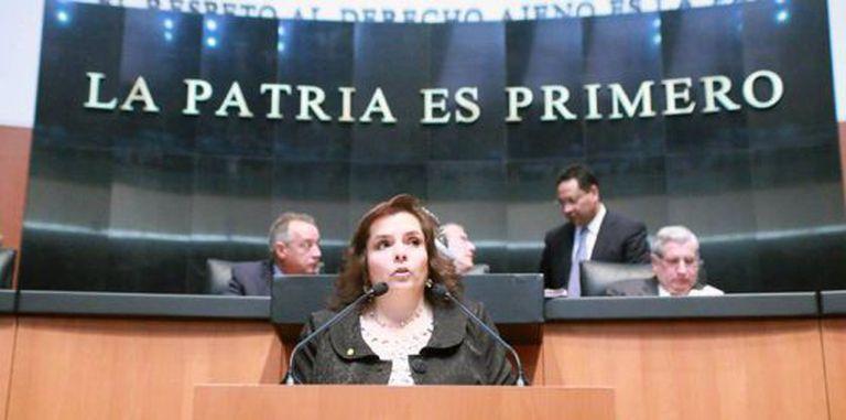 Congresswoman Selene Vázquez.