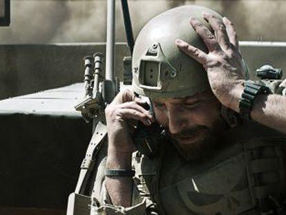 Shooting star: Bradley Cooper in 'American Sniper.'