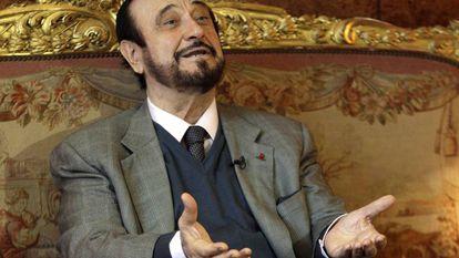 Rifaat al-Assad during an interview in Paris in 2011.