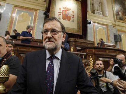 PP chief Mariano Rajoy on Friday.