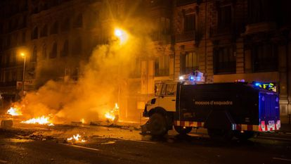 Authorities have estimated the damage of the recent disturbances at €2.5 million.
