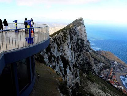 A view from Gibraltar.