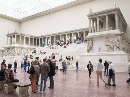 The Pergamon Museum in Berlin.