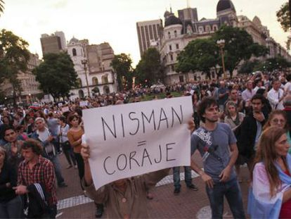 Protests in Argentina over Nisman case