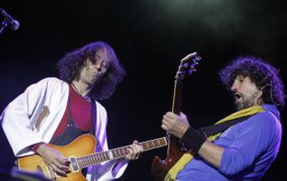 Extremoduro in concert.