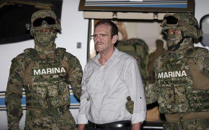 Héctor Luis Palma Salazar during his arrest in 2016.
