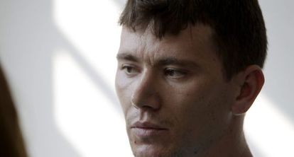 Istvan Horvath, the Romanian citizen accused of hiding Morate in his home in Lugoj.