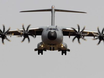A400M military plane made in Seville.