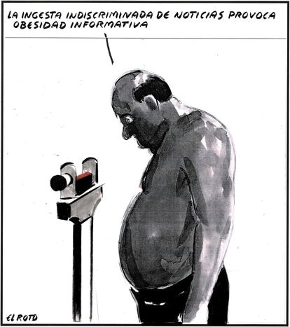 """""""The indiscriminate consumption of news causes information obesity."""""""