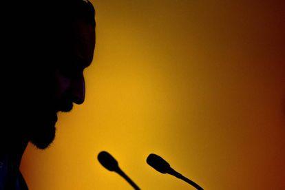 Vox leader Santiago Abascal.