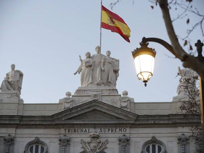 The Supreme Court in Madrid.