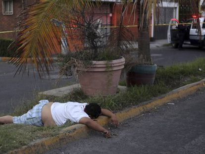 One of the victims in the city of Veracruz.