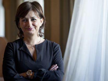 Carmen Amoraga, pictured this week in Barcelona.