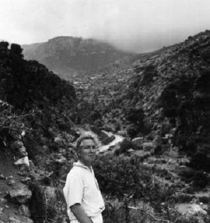 Robert Graves in Mallorca.