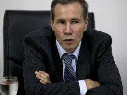 Prosecutor Alberto Nisman.