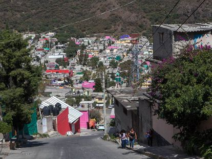 Los Bordos, one of Ecatepec's most dangerous areas.