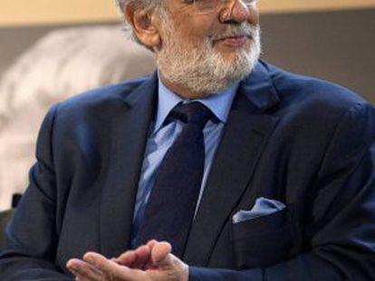 A file photo of tenor Plácido Domingo.