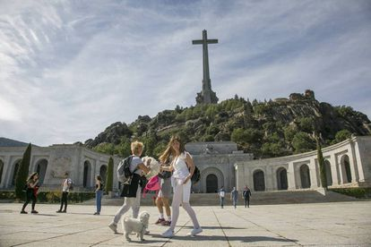 The Valley of the Fallen, last Sunday.