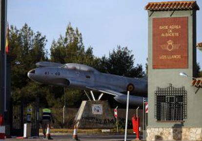 The Los Llanos military base in Albacete was set up as a NATO training center in 2006.