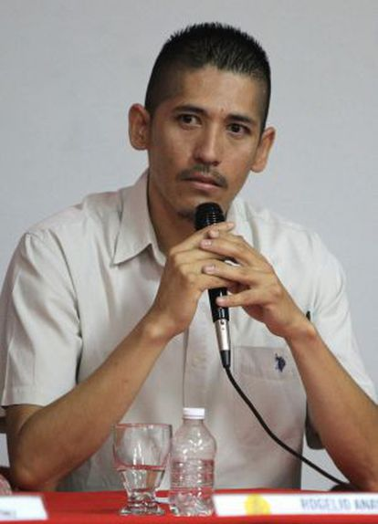 Rogelio Anaya suffered abuse at the hands of Mexican police officers.