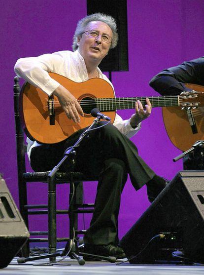 Guitarist Enrique de Melchor in 2010.