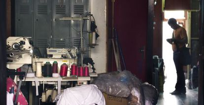 A Chinese workshop in Mataró, Barcelona that was raided in 2009, in the biggest police operation of its kind.