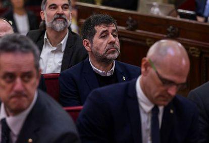 Jordi Sánchez, ex-president of the Catalan National Assembly (ANC).