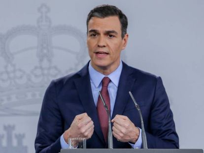 Spain's PM Pedro Sánchez has pledged millions in coronavirus relief.