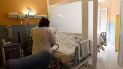The palliative care ward at a Seville hospital.