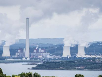 As Pontes in A Coruña province is the biggest coal-fired thermal power plant in the country.