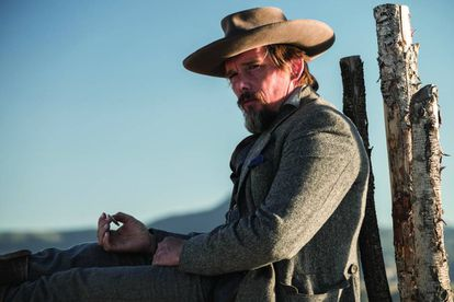 Ethan Hawke in an image from 'The Magnificent Seven'