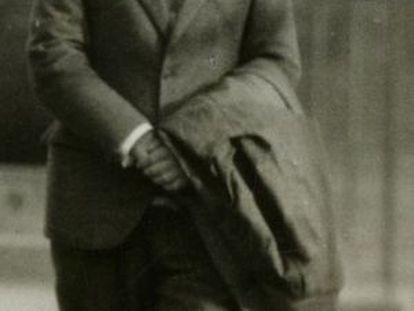 Lorca, at Columbia University in 1929.