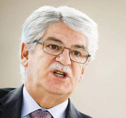 Alfonso Dastis.