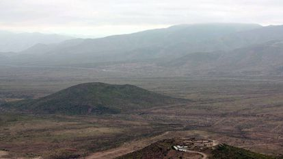 Proposed site of the Dominga mine.