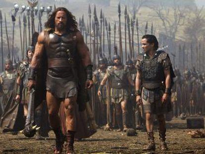 """Dwayne """"The Rock"""" Johnson stars in Brett Ratner's 'Hercules.'"""