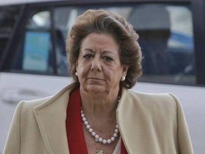 Former Valencia mayor Rita Barberá.